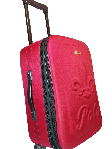 """Trolley case Lacase 20"""" inch beautiful full red colour"""