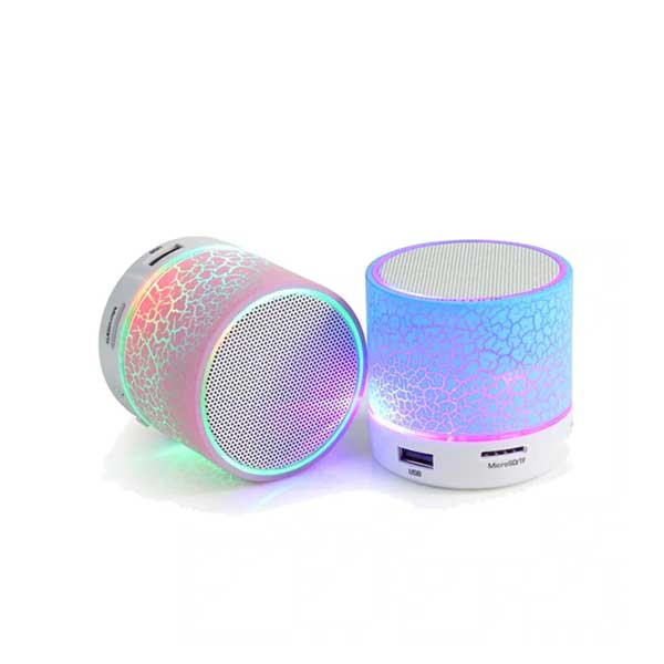 Mini Bluetooth Speakers With LED Effect