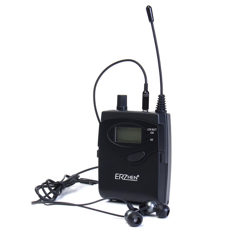 Ear Receiver for Professional Stereo Wireless Monitor Stage System