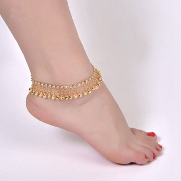 Exclusive China Anklet Golden color