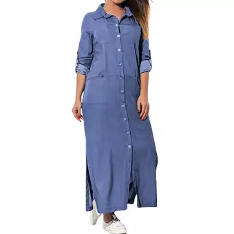 Cocoapps Store-Women's Pockets Loose Swing T-Shirt