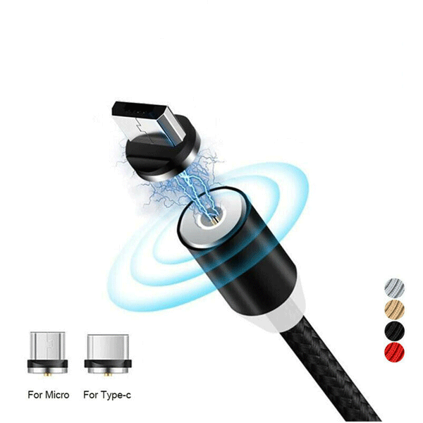 Metal Magnetic Cable 360° X-Cable