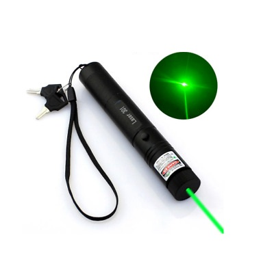 Laser pointer light Green 15 Miles 532nm Adjustable and Rechargeable
