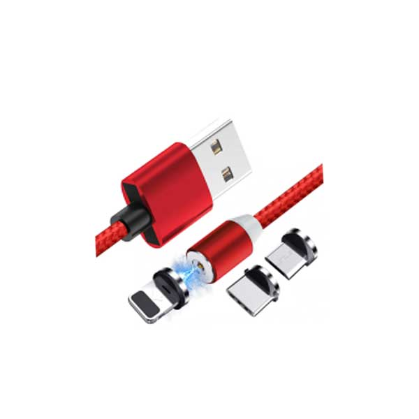 X-Cable Metal Magnetic Cable 360°