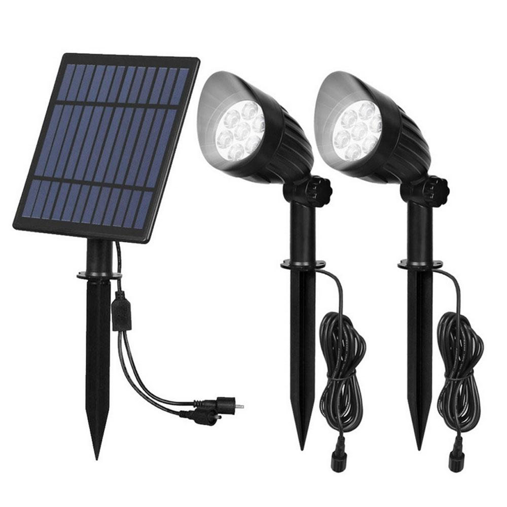 LED Light-controlled Lawn Lights
