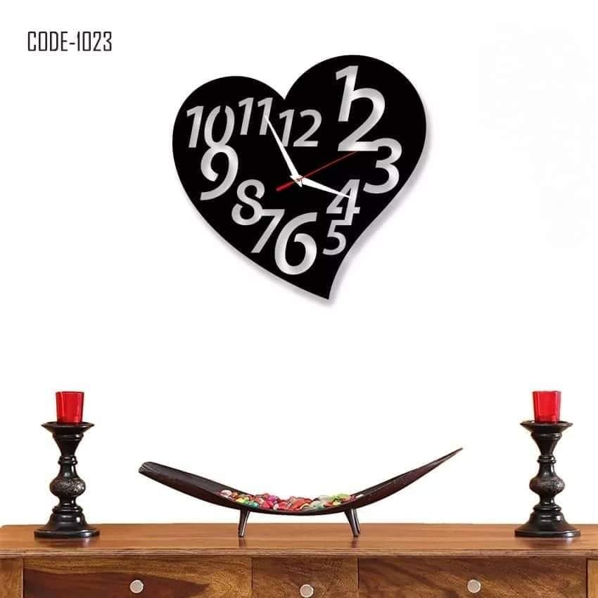 Wooden decorative wall watch-00RS1