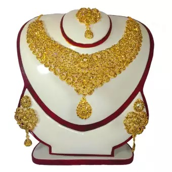 Original Indian gold Jewelry Set For Women