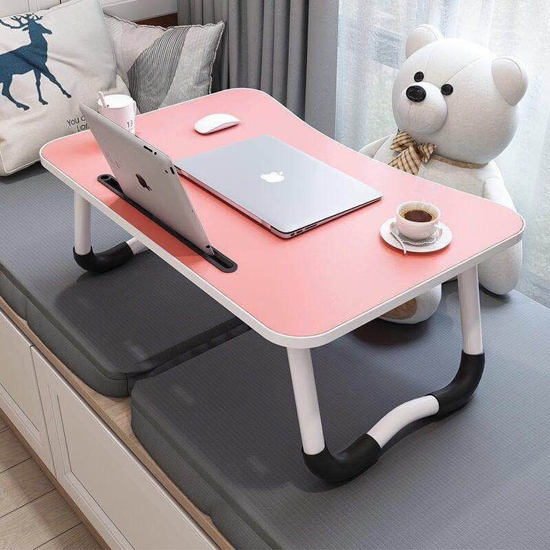Portable Laptop Desk Foldable Study Table Laptop Holder Notebook Table With Folding Legs Used on Bed