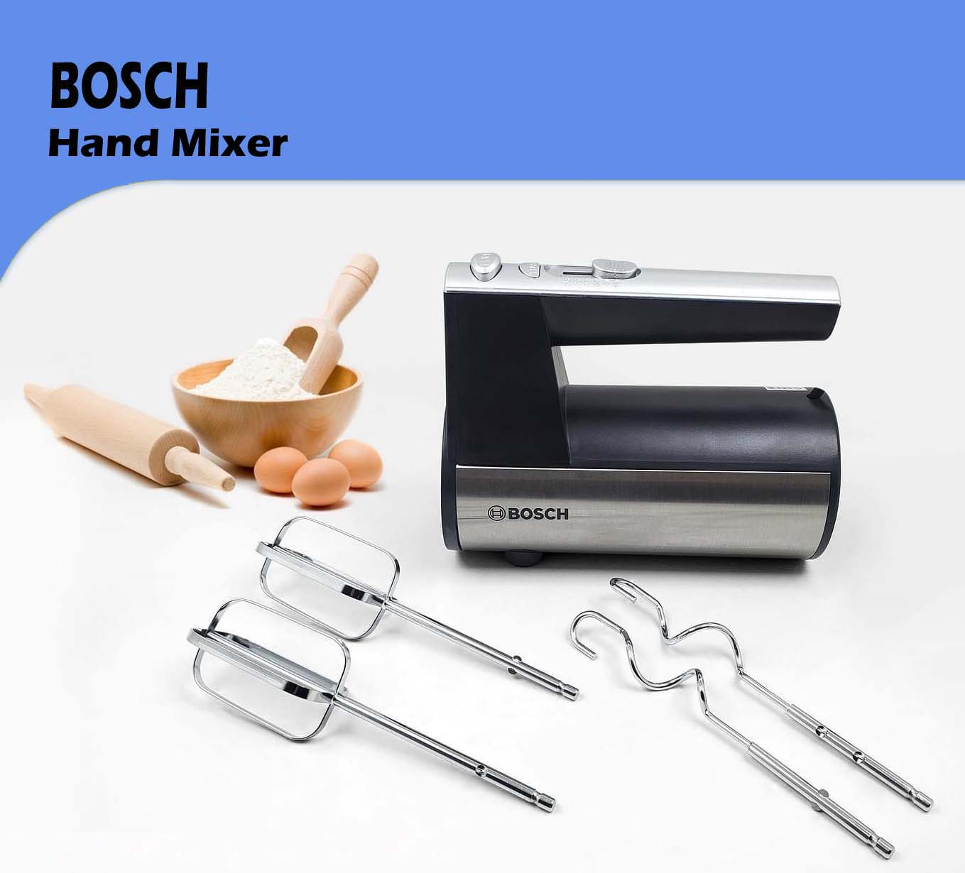 Bosch Electric Egg Beater and Hand Mixer BH-367- 400 Watts