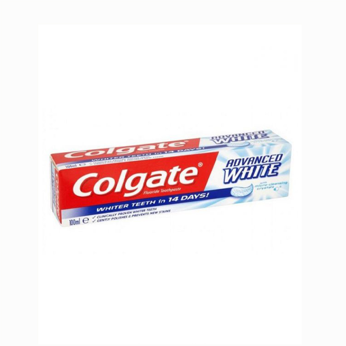 Colgate Advanced White Toothpaste (Imported), 100ml