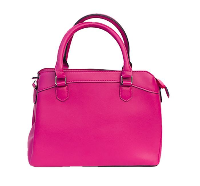 Fashionable Leather Hand Bag for Ladies RB-131 PINK