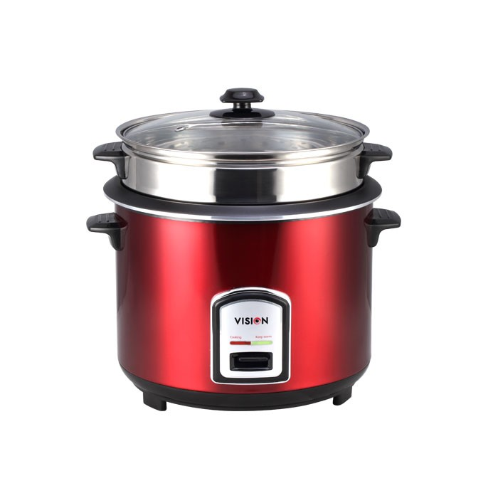VISION Rice Cooker 1.8 Ltr Open type (Color SS)