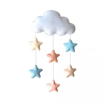 Lovely Cloud Tent Wall Hanging Decor
