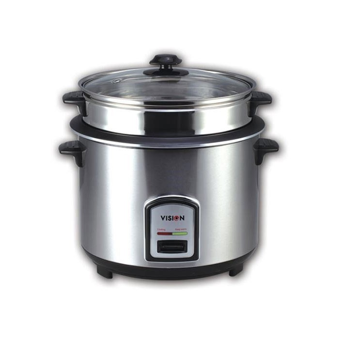 VISION Rice Cooker(SS) Open Type 1.8 Ltr VSNRC 40-03