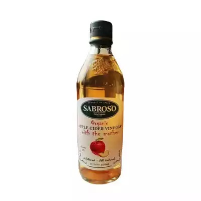 Sabroso Organic Apple Cider Vinegar With The Mother 500ml