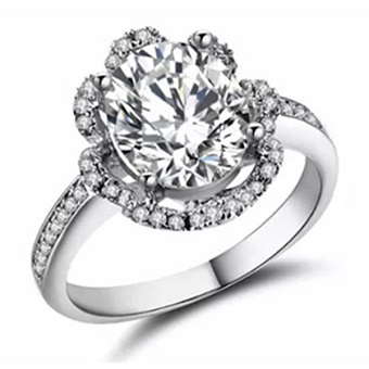 Silver Plated Jewelry Unique Engagement Rings