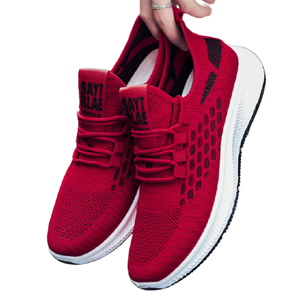 Stylish Red color sneakers for Men