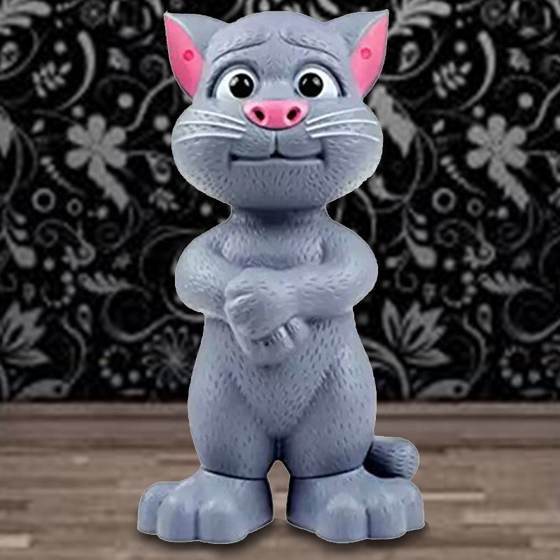 Talking Tom Toy Large Size with Baby Tom