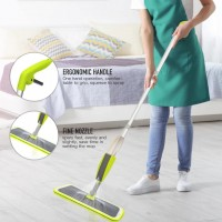 360 Degree Rotatable Head Mop With Auto Spray System