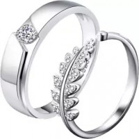 Crown Couple Finger Ring
