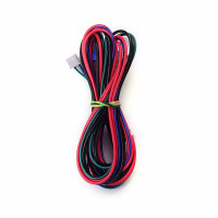 Decdeal Anet 18AWG Upgrade Heated Bed Cable Hot Bed Line Heatbed Wire Length 90cm 35.4 Inch for Anet
