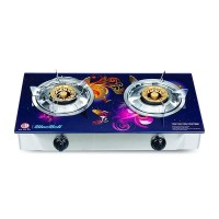 Double Glass Ng Gas Stove Bluebell