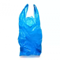 Poly bag, Plastic bag BLUE color easy to carry comfortable to use - 50 pcs