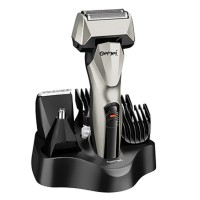 Gemei 6 in 1 Rechargeable Shaver,Hair,Ear & Nose Trimmer - GM576