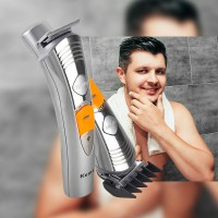 Kemei Cord/Cordless 7In 1 Multi-Functional Hair Trimmer & Shaver-KM580A