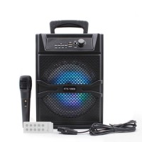 KTS-1090A/B Karaoke Portable Bluetooth Speaker With Remote And Mic