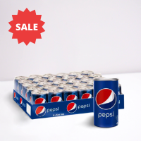 Pack of 24 Pcs Pepsi Can - 250 ml