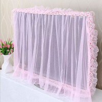 TV Dust Cover LCD LCD Wall Mounted Desktop Lace Cover