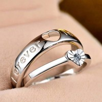 Valentine Special China Couple Ring